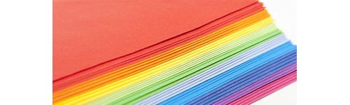Kopierpapier farbig / weiss